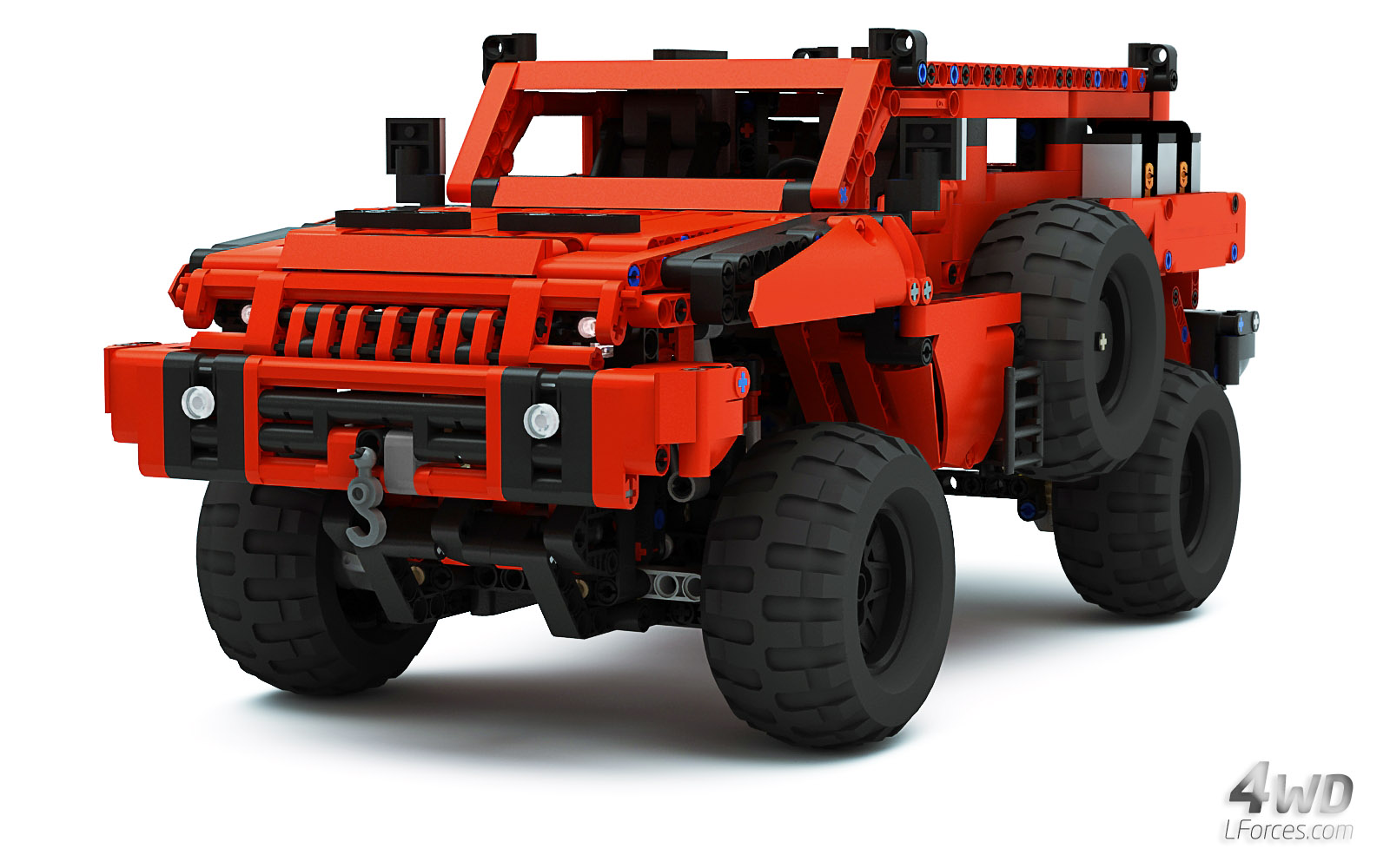Lego Technic Mrap Marauder Most Advanced Off Roader